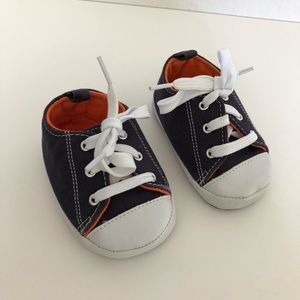 Other - 4/$25 Baby Boys Shoes Sneaker Crib Shoes Blue